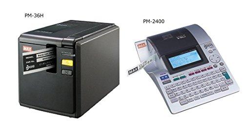 ビーポップミニ テープカセット 12mm幅 白に赤文字 LM-L512RW