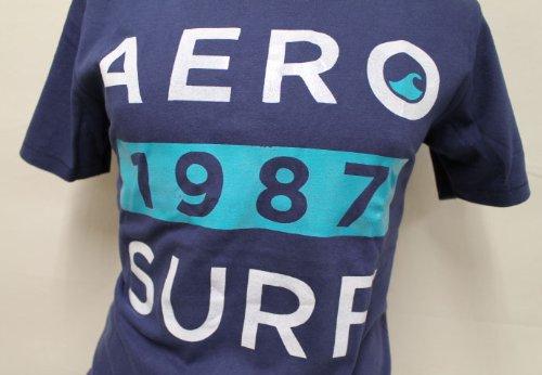 AEROPOSTALE(エアロポステール) Tシャツ メンズ 半袖Tシャツ [ネイビー] XS [並行輸入品]