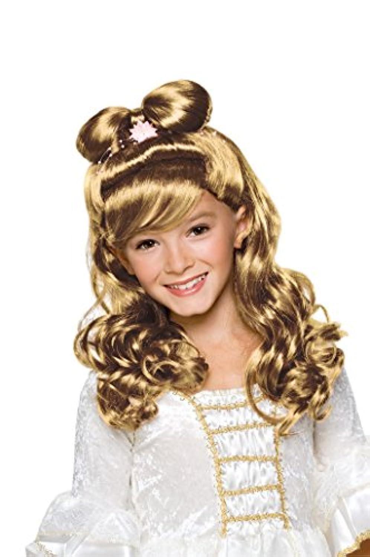 Rubies Elegant Princess Blond Child Wig [並行輸入品]