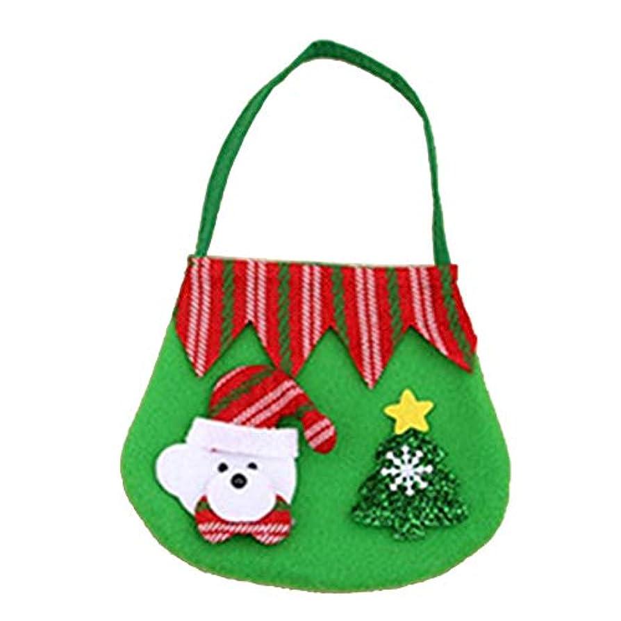 ジョージバーナードビクター丈夫クリスマスアイテム小さなハンドバッグ起毛布サンタのギフトバッグ子供用の小さなギフトバッグクリスマスの装飾