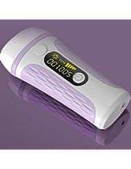脱毛脱毛器、IPLライト脱毛器家庭用、500,000回点滅永久無痛脱毛器,Purple