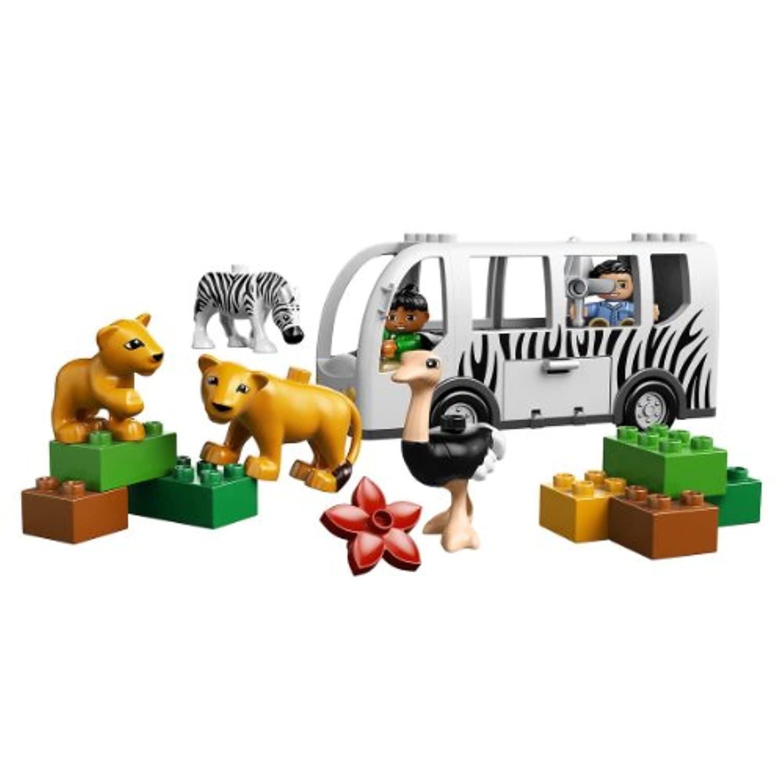 レゴ (LEGO) デュプロ どうぶつえんバス 10502