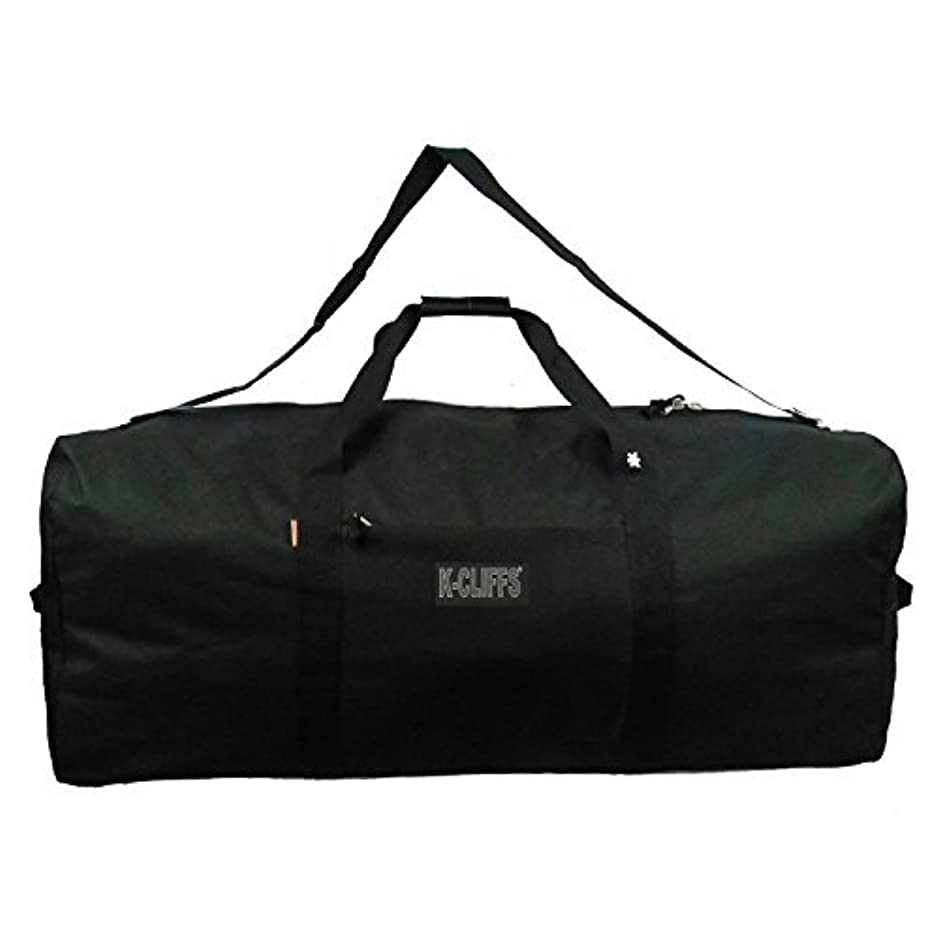 アブセイまともな子孫K-Cliffs Heavy Duty Cargo Duffel Large Sport Gear Equipment Travel Bag Rooftop Rack Bag By Praise Start [並行輸入品]