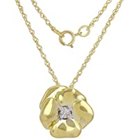 Gold & Diamond Direct 10k round-shape H-I diamond