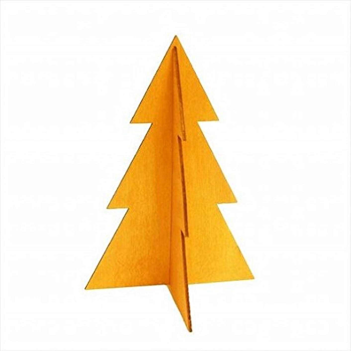 土作者側溝kameyama candle(カメヤマキャンドル) フェスティブツリーM 「 オレンジ 」 キャンドル 144x144x210mm (I882243009)