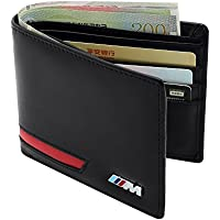 BMW Wallet With 8 Slots And 2 ID Cards Window For Men's Performance Wallet