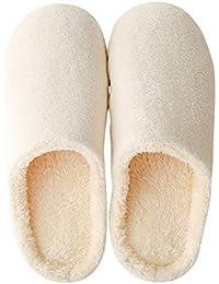 Rudolf スリッパ ルームシューズ 静音 通気スリッパ 男性 女性 室内履き 暖かい 滑らない 歩きやすい 抗菌衛生 洗濯可スリッパ