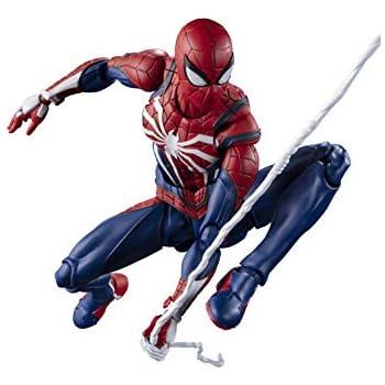 S.H.フィギュアーツ スパイダーマン アドバンス・スーツ (Marvel's Spider-Man) 約150mm ABS&PVC製 塗装済み可動フィギュア