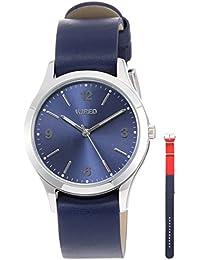 [ワイアード]WIRED 腕時計 WIRED buddy限定 限定500本 青文字盤 ネイビー革バンド AGAK705 メンズ