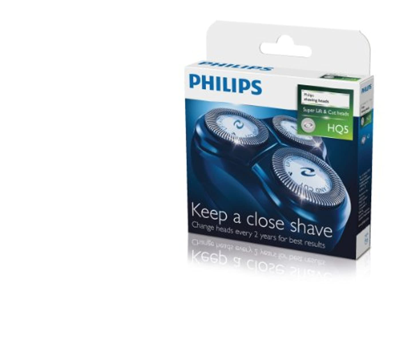 手紙を書く協定咲くPHILIPS リフレックスアクションシリーズ替え刃ユニット HQ5/50