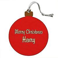 クリスマスヘンリーウッドクリスマスオーナメント