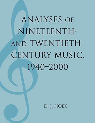 Download Analyses of Nineteenth- and Twentieth-century Music, 1940-2000 (Mla Index and Bibliography Series) 0810858878