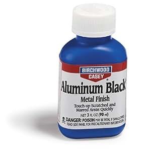 バーチウッド アルミニウムブラック メタルフィニッシュ アルミ用ガンブルー液 90ml
