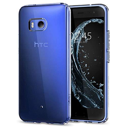 【Spigen】 スマホケース HTC U11 ケース TPU 全面クリア 超薄型 超軽量 リキッド・クリスタル H11CS21939 (クリスタル・クリア)