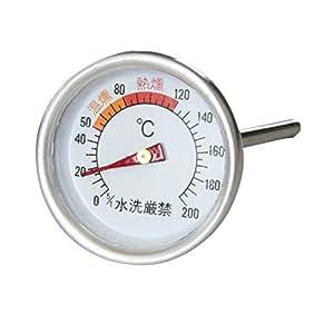 BUNDOK(バンドック) スモーカー 用 温度計 BD-438 スモーク対応