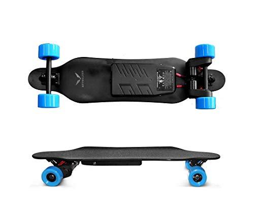 Skywalker Skyboard Plus Electric Skateboard Longboard with Remote Control Black
