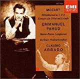モーツァルト:フルートとハープのための協奏曲/フルート協奏曲第1番/同第2番