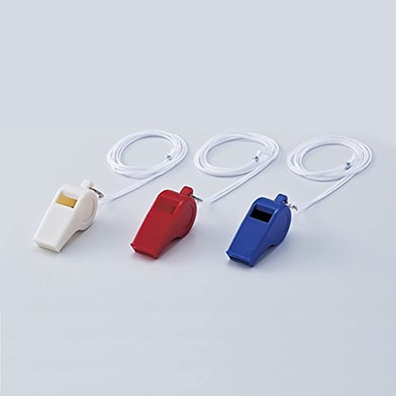 かどうか承認する適性プラスチックホイッスル プラ笛201-W ■カラー:白 【1ダース単位】