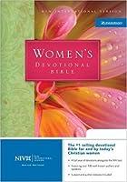Women's Devotional Bible: New International Version/Burgundy Leather Bonded