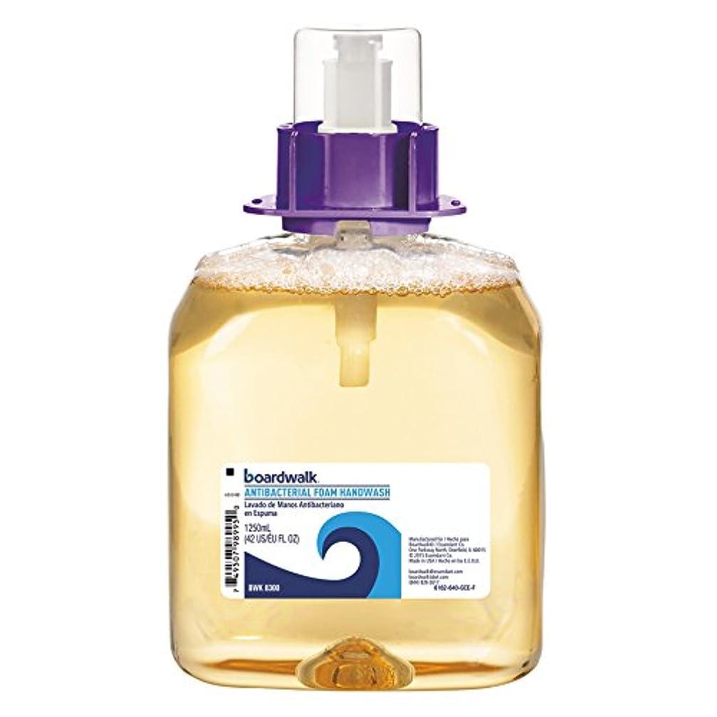 寄託ゲートウェイ剛性Foam Antibacterial Handwash, Sweet Pea, 1250ml Refill, 4 per Carton (並行輸入品)