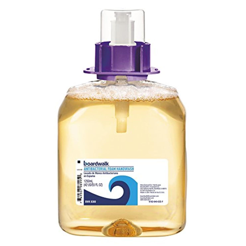 タッチ不均一脅威Foam Antibacterial Handwash, Sweet Pea, 1250ml Refill, 4 per Carton (並行輸入品)
