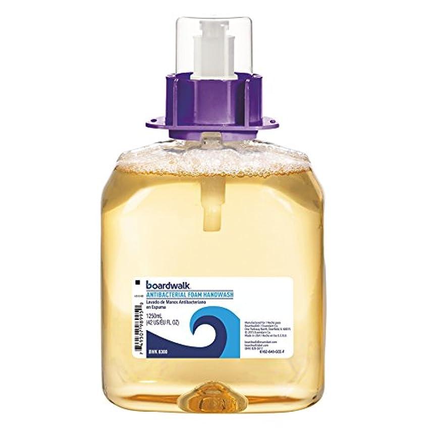 衣服用量扱うFoam Antibacterial Handwash, Sweet Pea, 1250ml Refill, 4 per Carton (並行輸入品)
