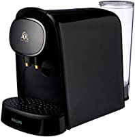 Philips L'OR Barista Piano Noir Double Shot Capsule Coffee Machine with Adjustable Coffee Volumes, Dual Capsule...