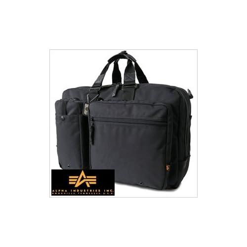 アルファインダストリーズ鞄 ALPHAINDUSTRIESバッグ ブリーフケース ビジネスボストン リュックサック 4603-BK