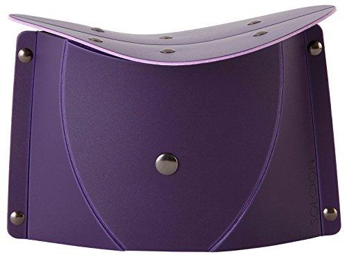 SOLCION 折りたたみ式 正座イス パタット セイザ 紫 SE002