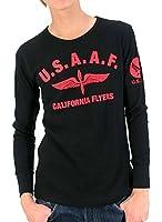(マルカワジーンズパワージーンズバリュー) Marukawa JEANS POWER JEANS VALUE Tシャツ メンズ ブランド 長袖 ロンT ロゴ 秋 8color