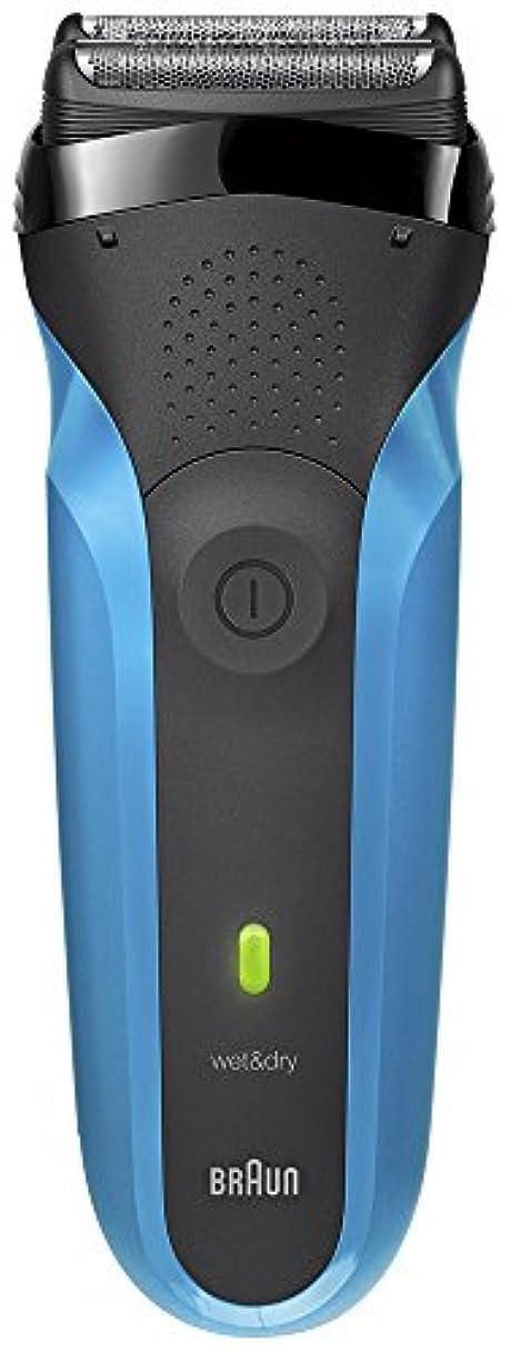 ウミウシ付録模索ブラウン メンズ電気シェーバー シリーズ3 310s 3枚刃 水洗い/お風呂剃り可