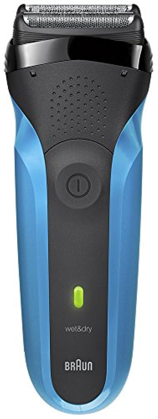 大事にする顕微鏡ユニークなブラウン メンズ電気シェーバー シリーズ3 310s 3枚刃 水洗い/お風呂剃り可