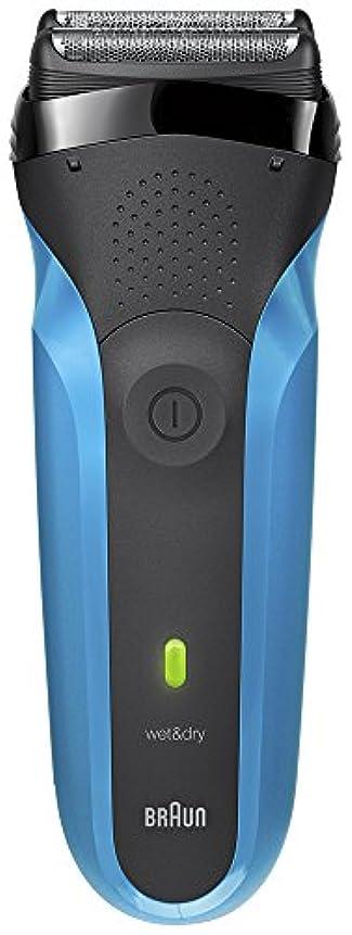 パノラマ予測牛ブラウン メンズ電気シェーバー シリーズ3 310s 3枚刃 水洗い/お風呂剃り可