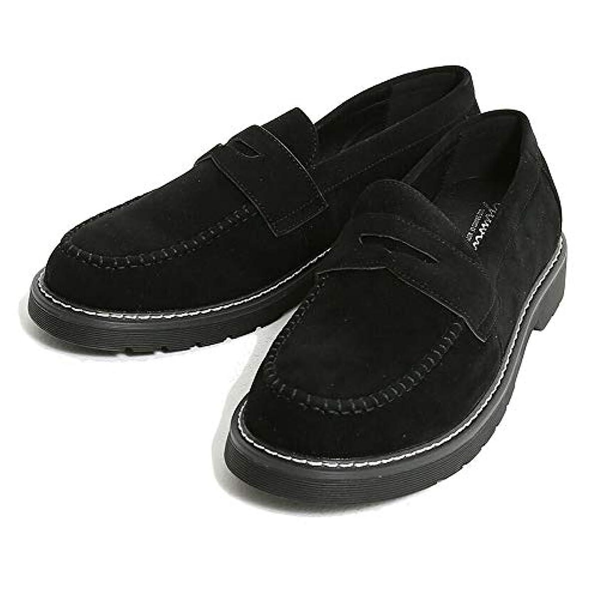 自動化共和党交じる(シルバーバレットセレクト) SB select 【TRY】 メンズ コインローファー シューズ 靴 くつ 合皮