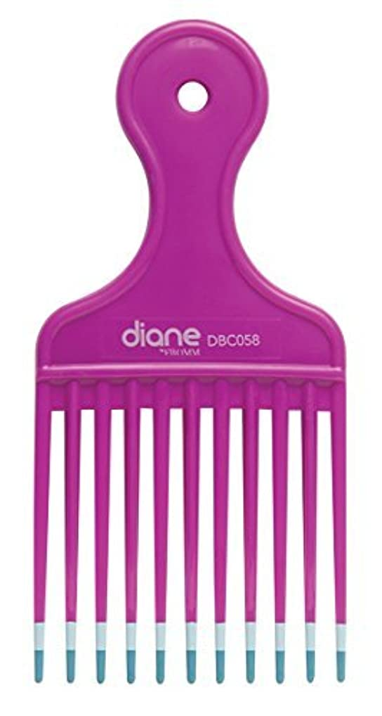 振るうインスタンス信頼性のあるDiane Fromm Mebco Medium 6 Inch Lift Comb Fuchsia Pink 1 Piece DBC058 [並行輸入品]