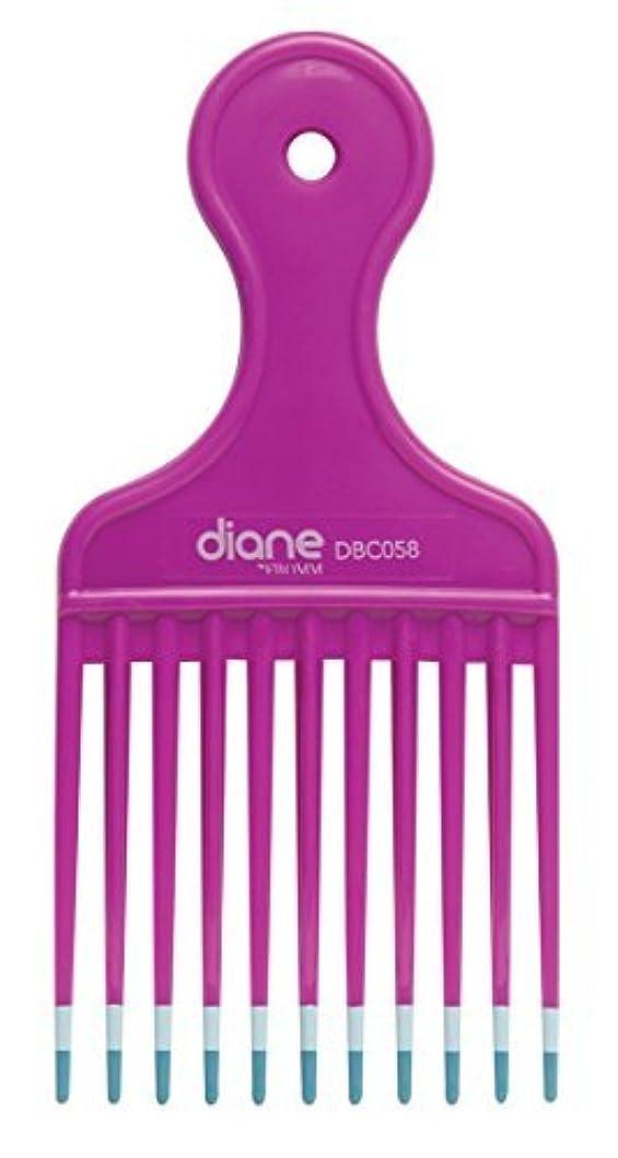 ポジティブアダルト行政Diane Fromm Mebco Medium 6 Inch Lift Comb Fuchsia Pink 1 Piece DBC058 [並行輸入品]