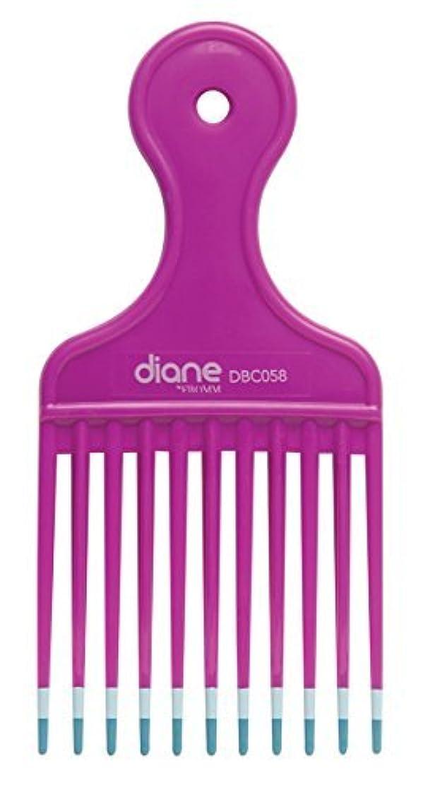 パキスタン人時々不振Diane Fromm Mebco Medium 6 Inch Lift Comb Fuchsia Pink 1 Piece DBC058 [並行輸入品]