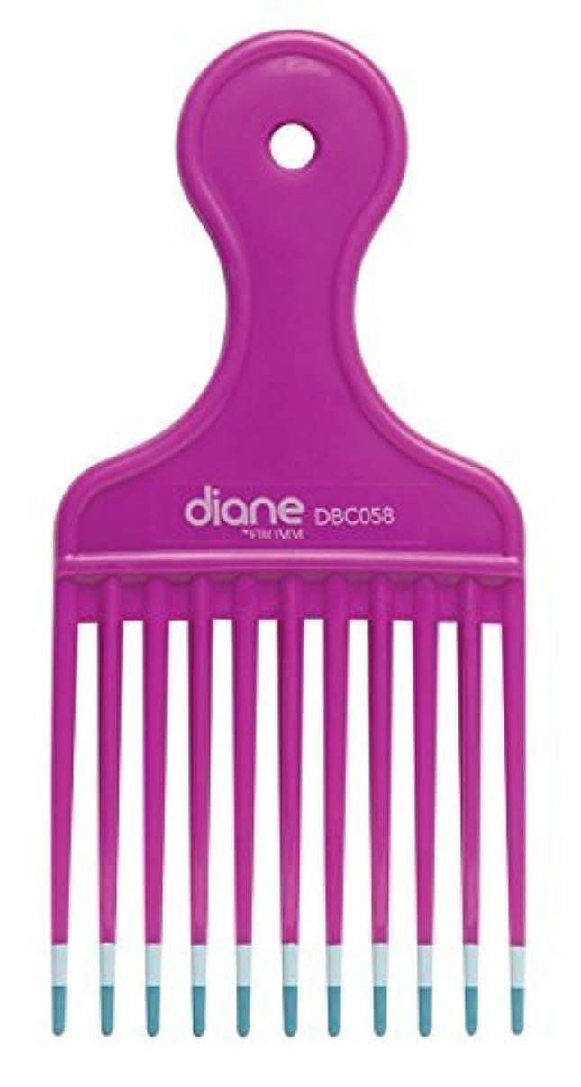 クレタ彼ら同僚Diane Fromm Mebco Medium 6 Inch Lift Comb Fuchsia Pink 1 Piece DBC058 [並行輸入品]