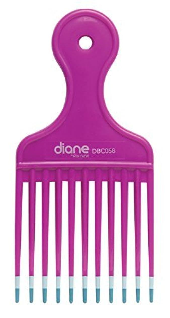 エンドテーブル姪シールDiane Fromm Mebco Medium 6 Inch Lift Comb Fuchsia Pink 1 Piece DBC058 [並行輸入品]