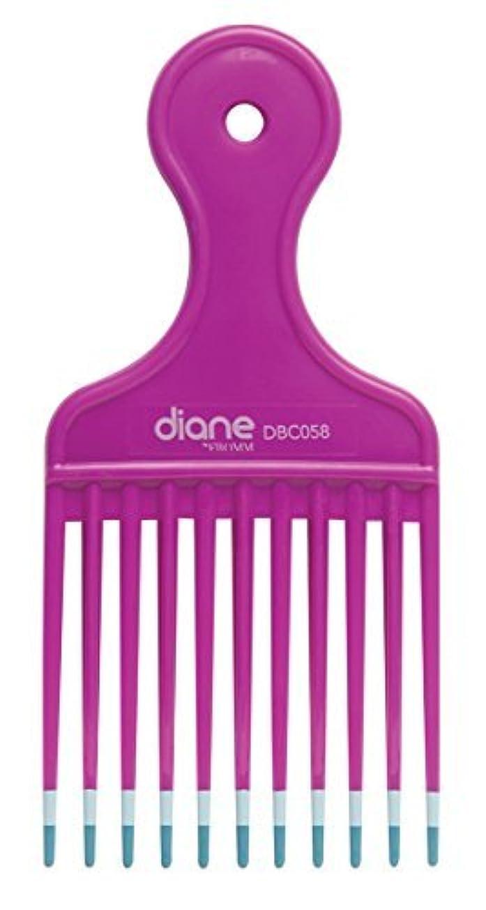 一幅解釈的Diane Fromm Mebco Medium 6 Inch Lift Comb Fuchsia Pink 1 Piece DBC058 [並行輸入品]