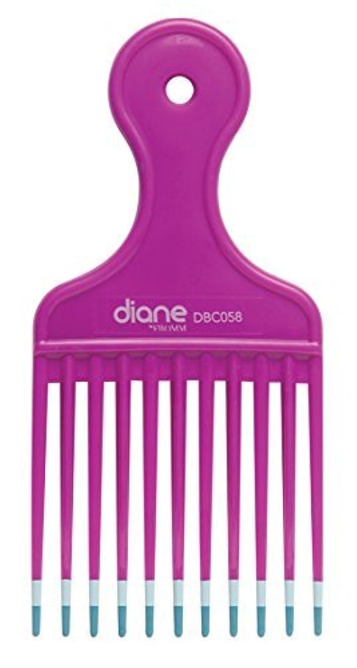 受取人不利益変装Diane Fromm Mebco Medium 6 Inch Lift Comb Fuchsia Pink 1 Piece DBC058 [並行輸入品]