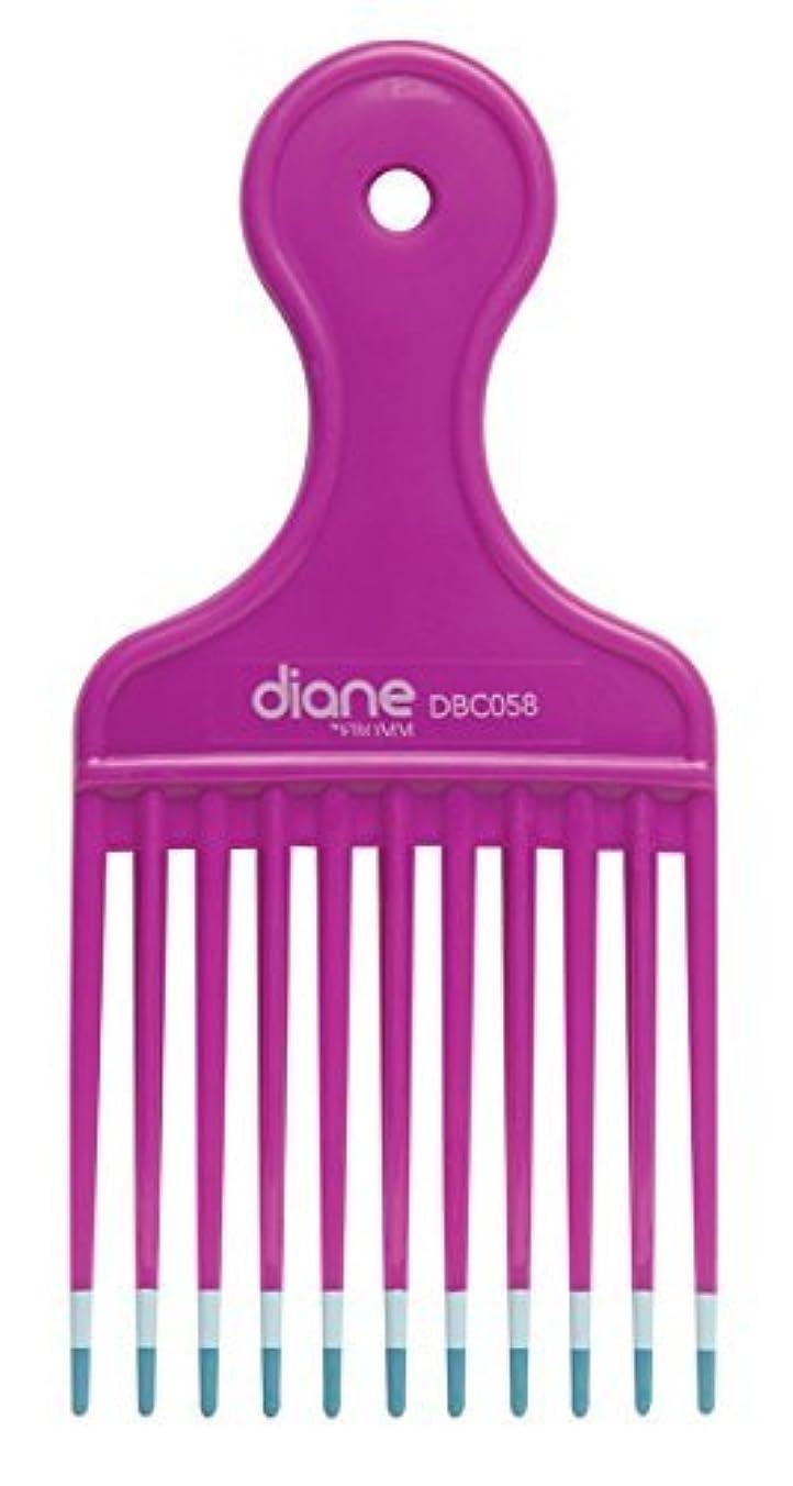 タバコちょっと待って乱すDiane Fromm Mebco Medium 6 Inch Lift Comb Fuchsia Pink 1 Piece DBC058 [並行輸入品]