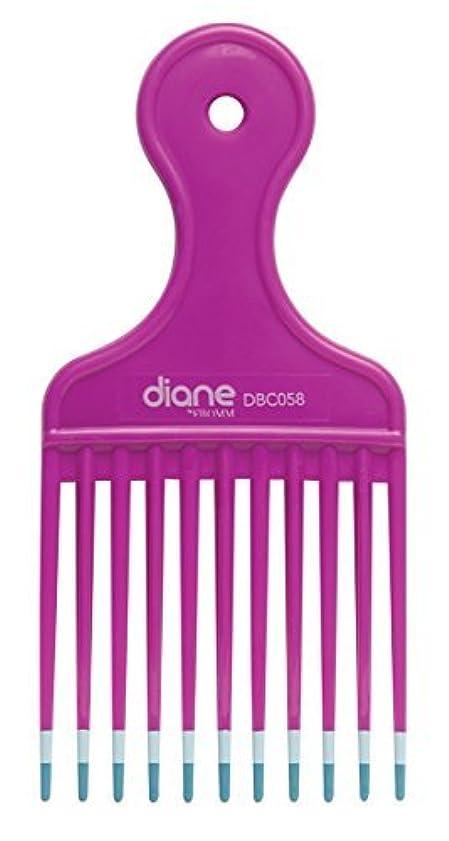 調整可能パースブラックボロウ降伏Diane Fromm Mebco Medium 6 Inch Lift Comb Fuchsia Pink 1 Piece DBC058 [並行輸入品]