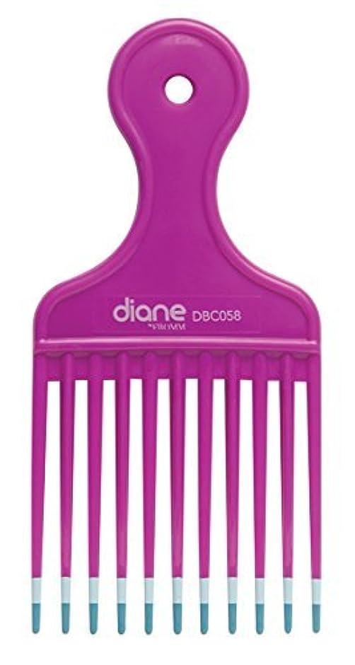 Diane Fromm Mebco Medium 6 Inch Lift Comb Fuchsia Pink 1 Piece DBC058 [並行輸入品]