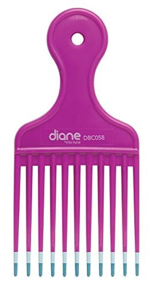 信じる枠案件Diane Fromm Mebco Medium 6 Inch Lift Comb Fuchsia Pink 1 Piece DBC058 [並行輸入品]