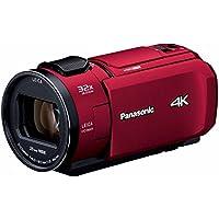 Panasonic デジタル4Kビデオカメラ VZX1M 64GB あとから補正 レッド HC-VZX1M-R