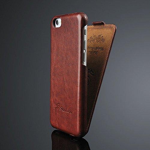 iPhone 6 ・6S(4.7インチ用)  高級本皮 縦開...