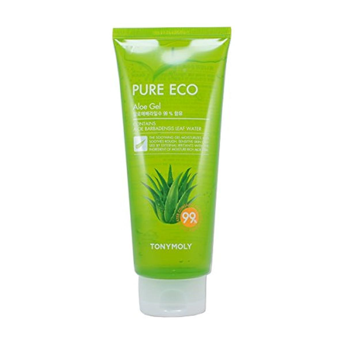 受賞使用法科学的(3 Pack) TONYMOLY Pure Eco Aloe Gel (Tube) (並行輸入品)