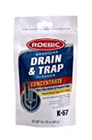 Roebic K-67BAG 16-Ounce Granular Drain And Trap Cleaner by Roebic