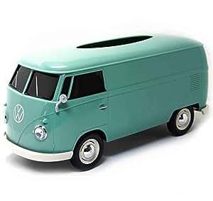 パドルビー(Puddleby) ティッシュケース グリーン フォルクス ワーゲンバス T1(1963) 266x113x119mm 91401MB−green
